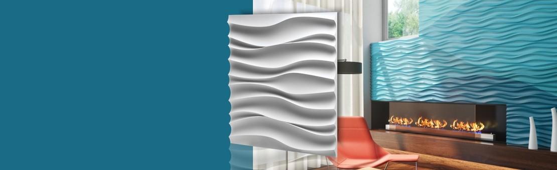 Panel dekoracyjny 3D - ścienny